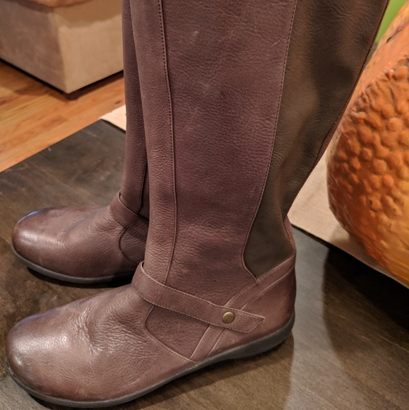 Abeo Shoes | Brown Leather Boots 85 New